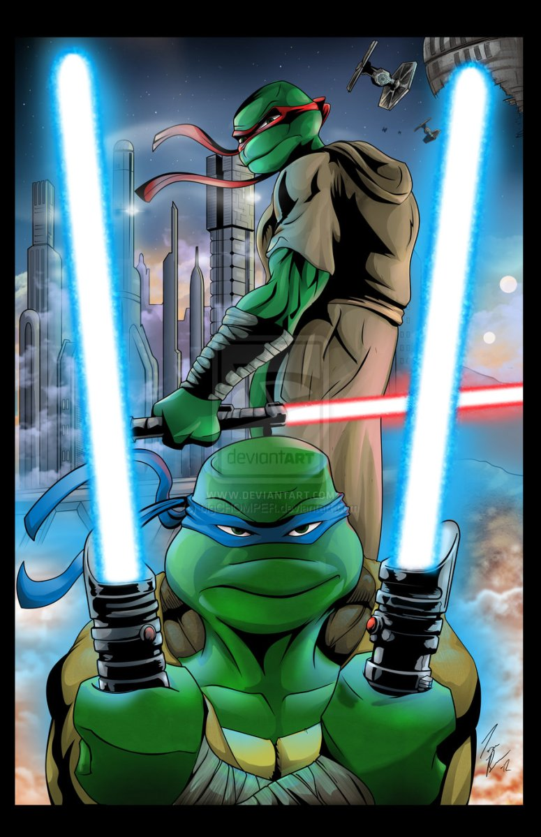 Star Wars vs. Teenage Mutant Ninja Turtles/TMNT: What's More Awesome!